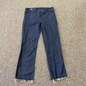 📦4/$20 Raw hem bootcut jeans by Theory size 2